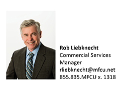 A picture of Rob Liebknecht who is a Commercial Services Manager at MFCU.