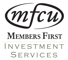 An MFCU Logo that says Members First Investment Services.