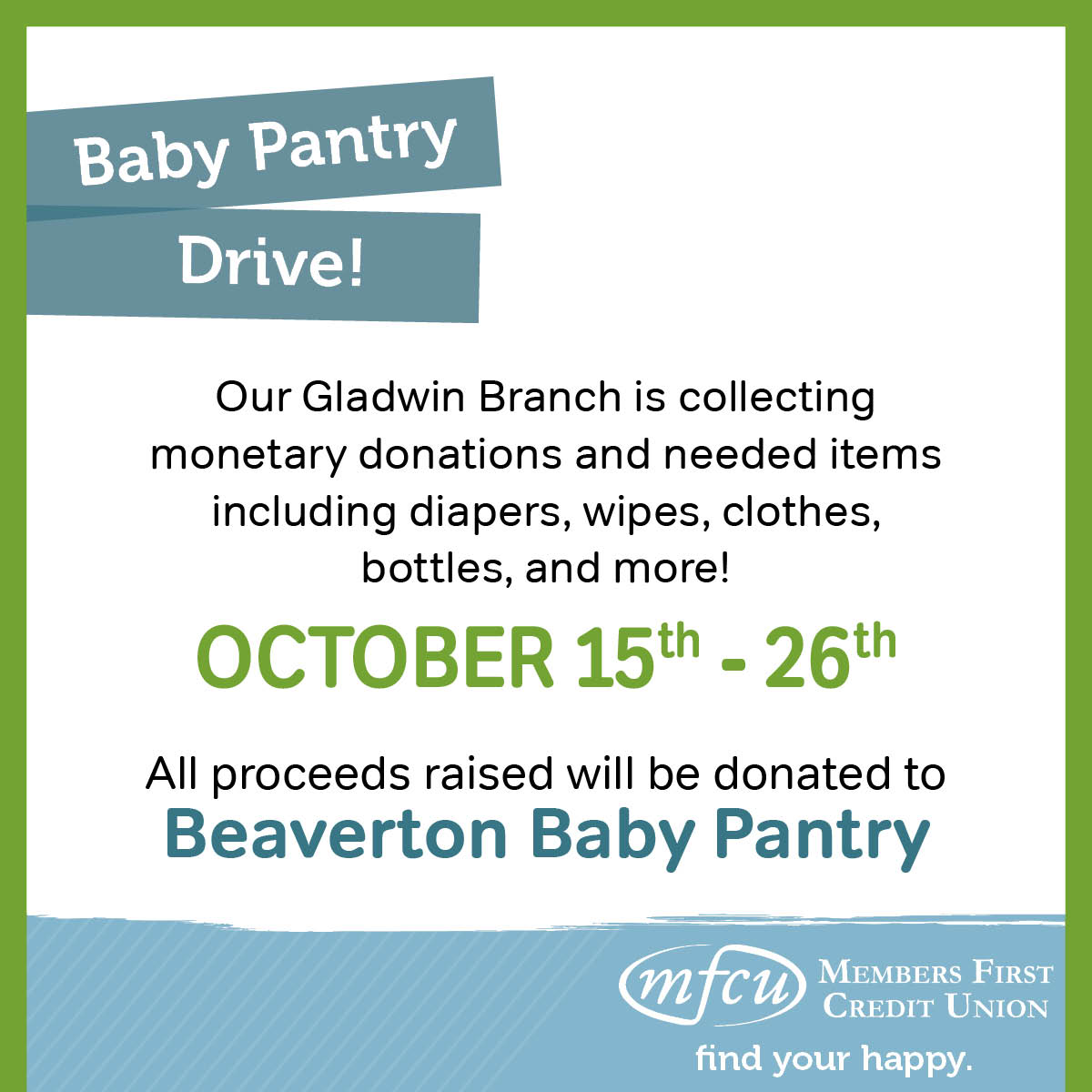 Baby Pantry Drive