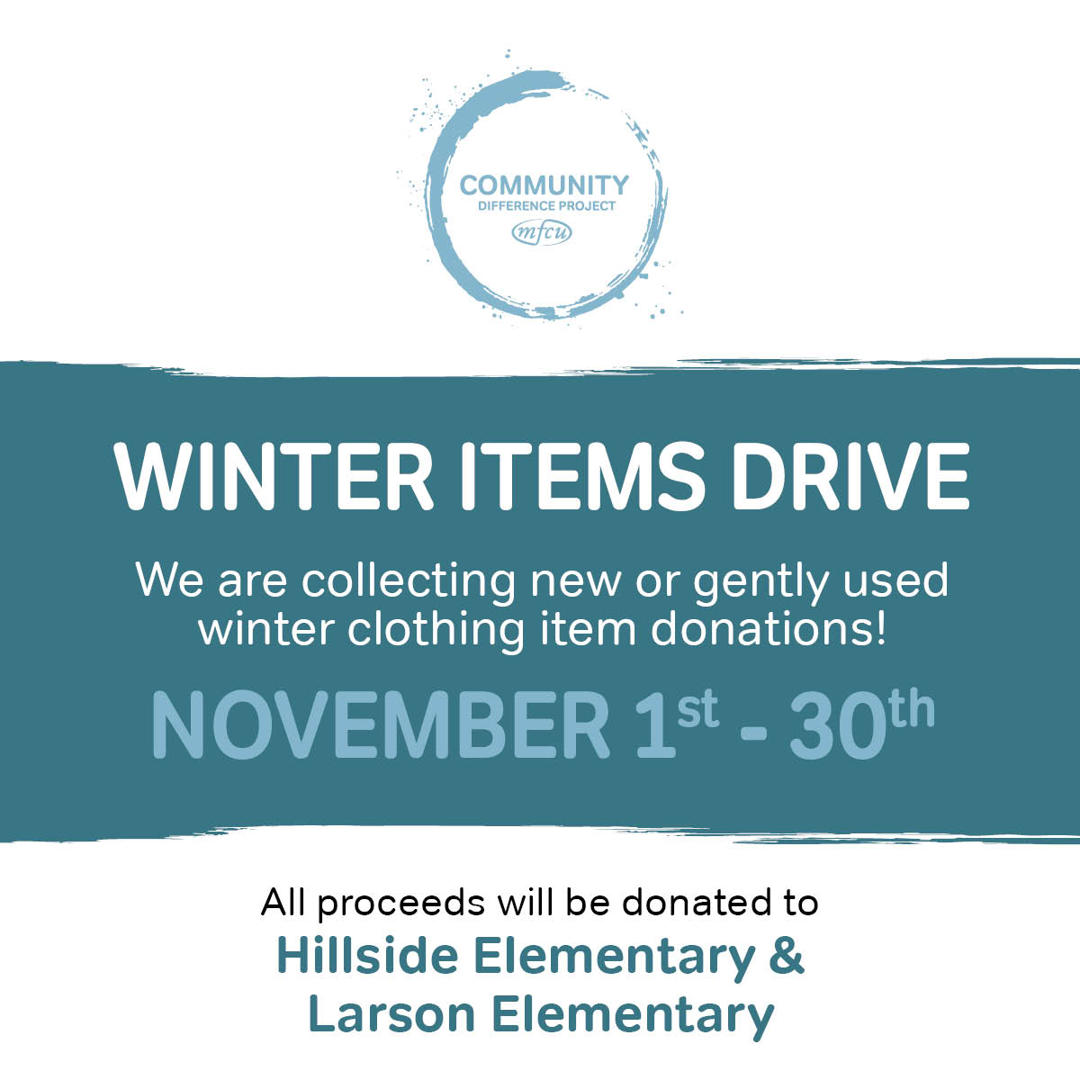 winter items drive