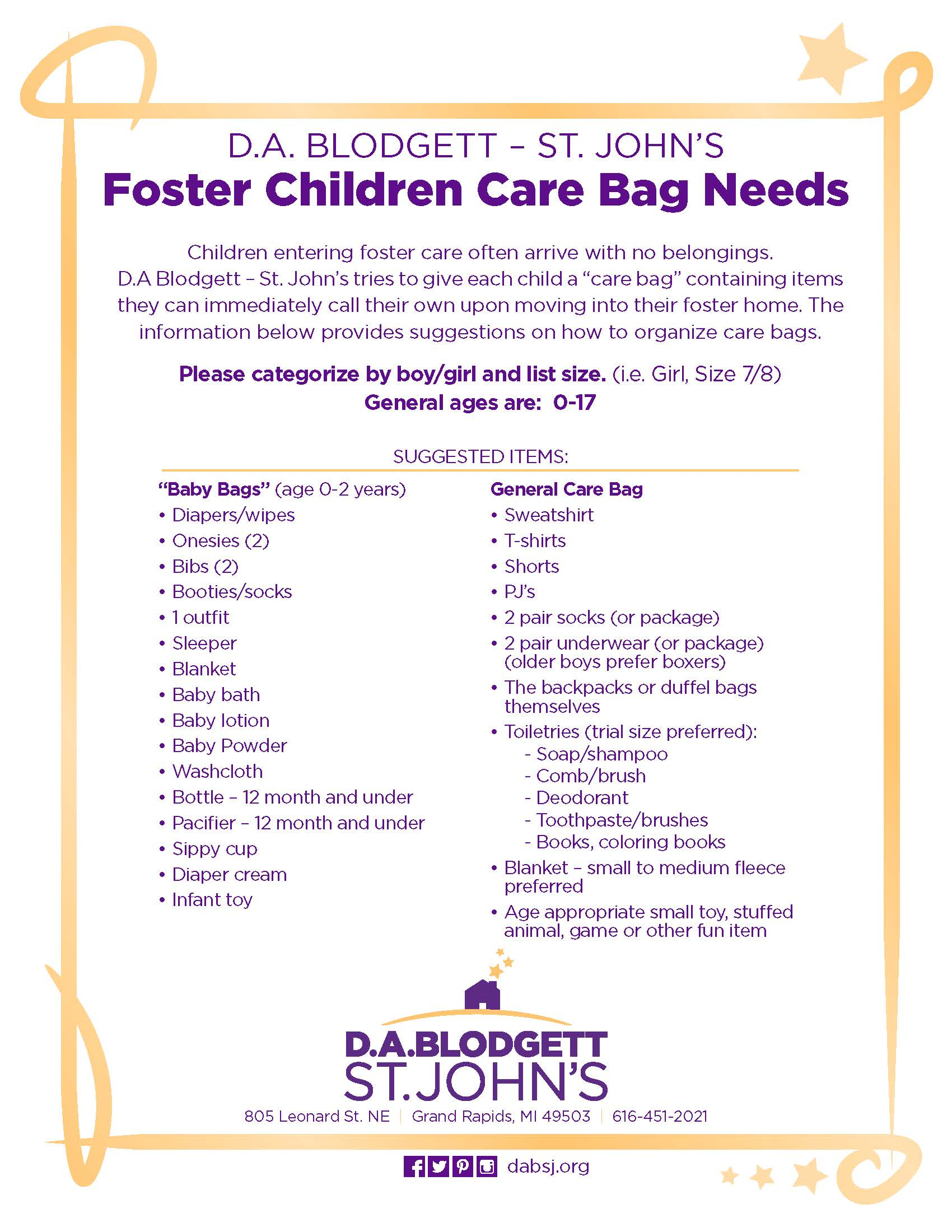Foster Care Drive