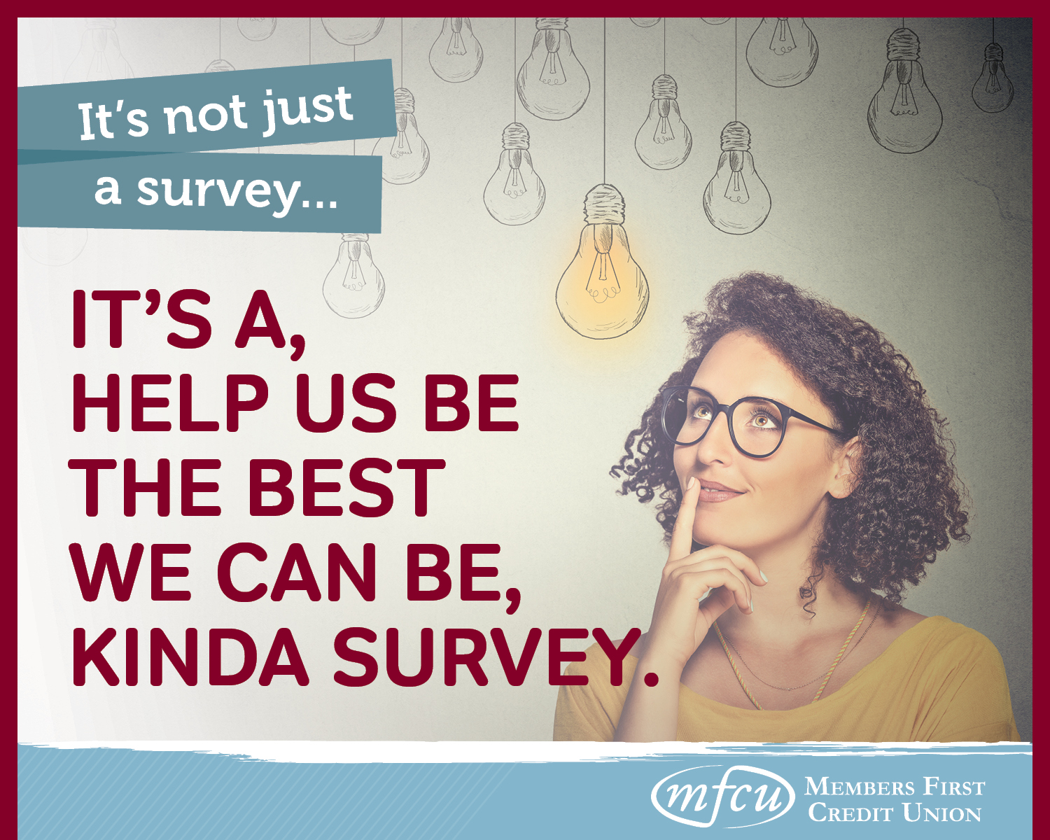 Take our survey.